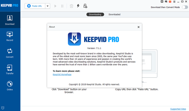 KeepVid Pro Crack With Serial Key