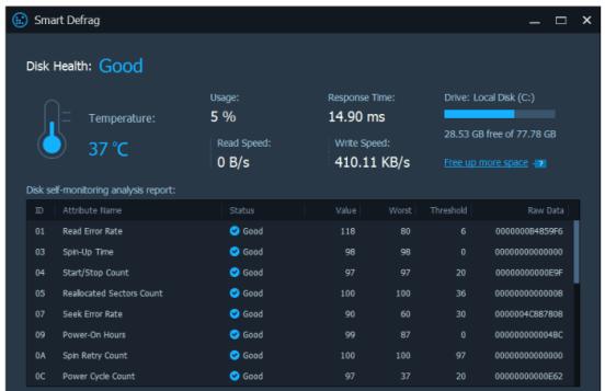 IObit Smart Defrag Pro Working Key